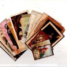 Postales: LOTE DE 25 ESTAMPITAS RELIGIOSAS. DIFERENTES VARIADAS. VER FOTOS.. Lote 167915528