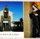 Postales: POSTAL - PARROQUIA E IMAGEN DE SANTA RITA DE CASIA - PUNTA BRAVA, PUERTO DE LA CRUZ, TENERIFE. Lote 168090864