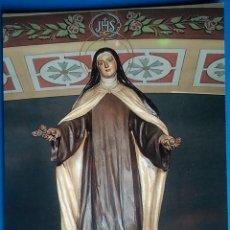 Postales: POSTAL RELIGIOSA LLEIDA SANTA TERESA DE JESÚS SANTUARIO LERIDA. Lote 168203662
