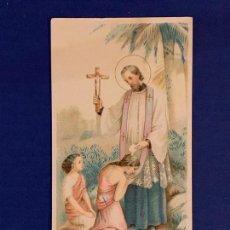 Postales: ESTAMPA RELIGIOSA. PUBLICIDAD PÍLDORAS DEL DR. ROSS.. Lote 168307116