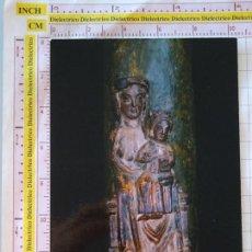 Postales: FOTO POSTAL RELIGIOSA. AÑO 1983. MONTBLANC, GERONA. MARE DE DEU DE LA CREU VERDA. 1562. Lote 168513480