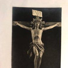 Postales: SANTO CRISTO DE LIMPIAS (SANTANDER) POSTAL RELIGIOSA. EDITA: FOTO LEONCIO, AMPUERO (H.1920?). Lote 168525294