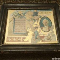 Postales: ESTAMPA LIBRILLO RELIGIOSO JUBILEO SACERDOTAL LEÓN XIII 1 DE ENERO DE 1888. Lote 168618218