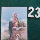 Postales: POSTAL RELIGIOSA ANTIGUA AÑOS 50 . Lote 168693804