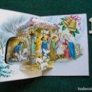 Postales: FELICITACIÓN RELIGIOSA ANTIGUA TROQUELADA. Lote 168694508