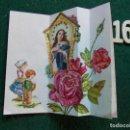 Postales: FELICITACIÓN RELIGIOSA ANTIGUA TROQUELADA. Lote 168694640