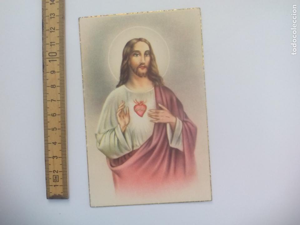 SAGRADO CORAZÓN DE JESÚS. D. 49. SIN CIRCULAR POSTAL RELIGIOSA. POSTCARD (Postales - Postales Temáticas - Religiosas y Recordatorios)