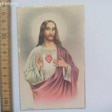 Postales: SAGRADO CORAZÓN DE JESÚS. D. 49. SIN CIRCULAR POSTAL RELIGIOSA. POSTCARD. Lote 168753424