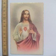 Postales: SAGRADO CORAZÓN DE JESÚS. D. 49. SIN CIRCULAR POSTAL RELIGIOSA. POSTCARD. Lote 168755592