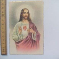 Postales: SAGRADO CORAZÓN DE JESÚS. D. 49. SIN CIRCULAR POSTAL RELIGIOSA. POSTCARD. Lote 168755620