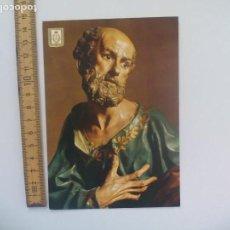 Postales: SAN PEDRO Nº 101 MURCIA MUSEO DE SALZILLO ESCUDO DE ORO. SIN CIRCULAR POSTAL RELIGIOSA. POSTCARD. Lote 168756348
