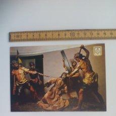 Postales: LA CAIDA Nº 56 MURCIA MUSEO DE SALZILLO ESCUDO DE ORO. SIN CIRCULAR POSTAL RELIGIOSA. POSTCARD. Lote 168756468