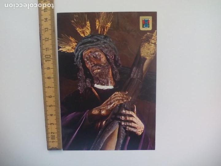 Nº 310 SEVILLA SEMANA SANTA JESÚS GRAN PODER. ESCUDO DE ORO. SIN CIRCULAR POSTAL RELIGIOSA. (Postales - Postales Temáticas - Religiosas y Recordatorios)
