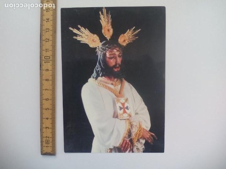 NUESTRO PADRE JESUS CAUTIVO SEMANA SANTA MALAGA. ESCUDO DE ORO SIN CIRCULAR POSTAL RELIGIOSA. (Postales - Postales Temáticas - Religiosas y Recordatorios)