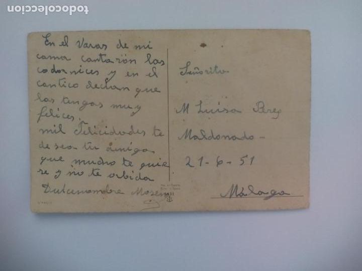 Postales: L T. 1131. S/ PACIS. ANTIGUA POSTAL, ESCRITA. 1951, VIRGEN. POSTAL RELIGIOSA. POSTCARD - Foto 2 - 168764660