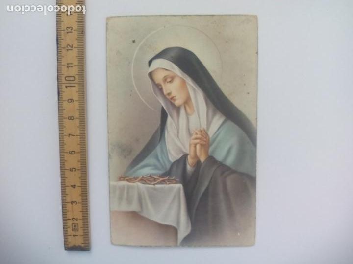 L T. 1131. S/ PACIS. ANTIGUA POSTAL, ESCRITA. 1951, VIRGEN. POSTAL RELIGIOSA. POSTCARD (Postales - Postales Temáticas - Religiosas y Recordatorios)