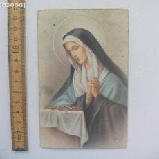 Postales: L T. 1131. S/ PACIS. ANTIGUA POSTAL, ESCRITA. 1951, VIRGEN. POSTAL RELIGIOSA. POSTCARD. Lote 168764660