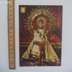 Postales: SEGOVIA VIRGEN NUESTRA SEÑORA DE LA FUENCISLA, PATRONA. ESCUDO DE ORO. POSTAL RELIGIOSA. POSTCARD. Lote 168764912