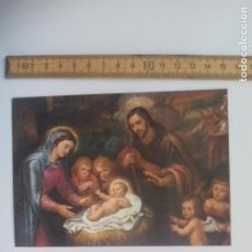 Postales: FELICITACION RAMÓN OBISPO MALAGA. 1983. NACIMIENTO 1058 F. RIZI. POSTAL RELIGIOSA. POSTCARD. Lote 168765304