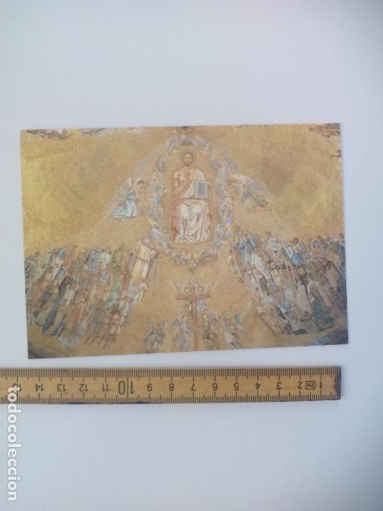 SANTA CRUZ DEL VALLE. PV 8. CRISTO PANTOCRATOR SANTIAGO PADRÓS. POSTAL RELIGIOSA. POSTCARD (Postales - Postales Temáticas - Religiosas y Recordatorios)