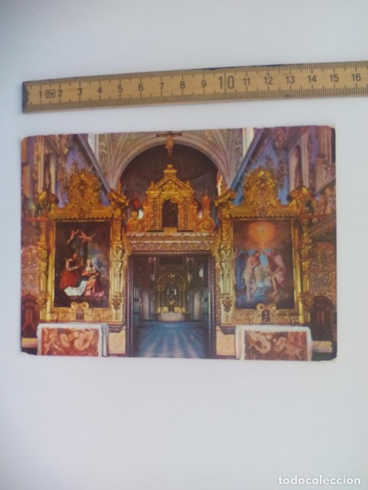 13. LA CARTUJA DE GRANADA CORO DE LEGOS. VALMAR 1962. POSTAL RELIGIOSA. POSTCARD (Postales - Postales Temáticas - Religiosas y Recordatorios)