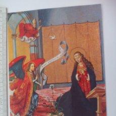 Postales: 8 MUSEO PARROQUIAL PAREDES DE NAVA PALENCIA PEDRO BERRUGUETE, SIN CIRCUL. POSTAL RELIGIOSA. POSTCARD. Lote 168765856