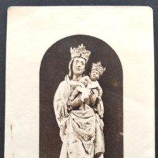 Postales: RECURDO SOLEMNE OCTAVARIO CONGREGACIÓN REAL DE ESCLAVOS DE NTRA. SRA. DE LA ALMUDENA, MADRID 1925. Lote 168776268