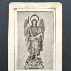 Postales: DEVOCIÓN AL GLORIOSO SAN RAFAEL ARCÁNGEL - ASILO DE SAN JUAN DE DIOS, MALVARROSA (VALENCIA). Lote 168777324