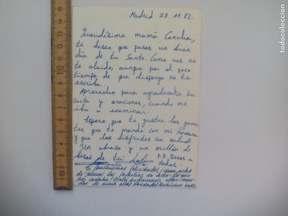 Postales: AFA, PAPA 22. JUAN PABLO II, ESCRITA 1982. POSTAL RELIGIOSA. POSTCARD - Foto 2 - 168782352