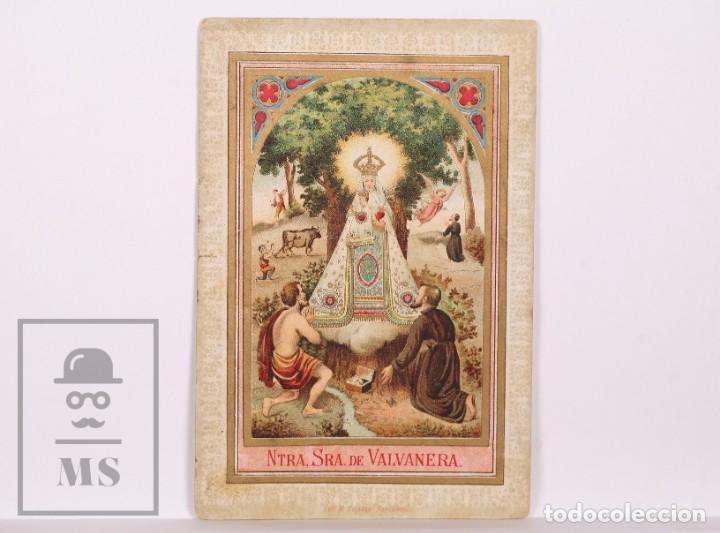 ANTIGUA ESTAMPA RELIGIOSA - NUESTRA SEÑORA DE VALVANERA - PRINCIPIOS S. XX (Postales - Postales Temáticas - Religiosas y Recordatorios)