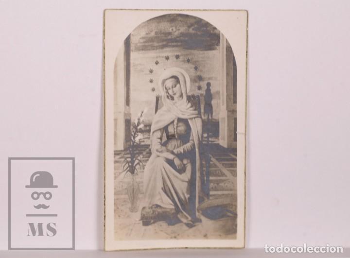 ANTIGUA ESTAMPA RELIGIOSA - VIRGEN MARÍA - PRINCIPIOS S. XX (Postales - Postales Temáticas - Religiosas y Recordatorios)