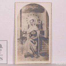 Postales: ANTIGUA ESTAMPA RELIGIOSA - VIRGEN MARÍA - PRINCIPIOS S. XX. Lote 168825800