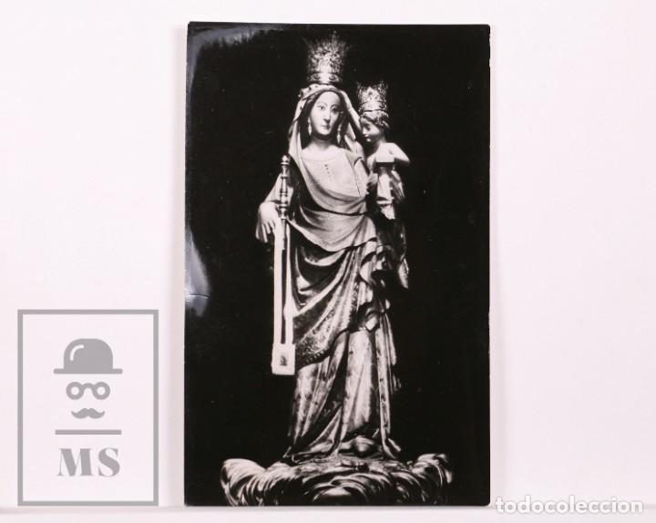 FOTOGRAFÍA / POSTAL FOTOGRÁFICA - MARE DE DÉU DE LA SERRA, MONTBLANC - MEDIDAS 9 X 14 CM (Postales - Postales Temáticas - Religiosas y Recordatorios)