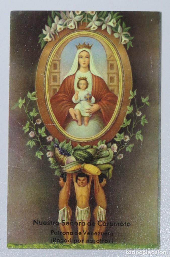 postal. nuestra señora de coromoto. patrona de - Comprar Postales  religiosas y recordatorios en todocoleccion - 169349508