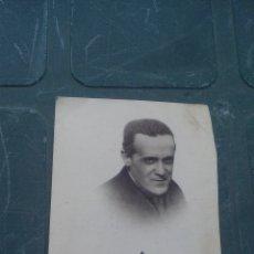 Postales: AÑOS 40 - PADRE RUBIO, ANTIGUA ESTAMPA CON RELIQUIA. Lote 169447148