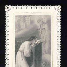 Postales: ESTAMPA RELIGIOSA DE PUNTILLA, CALADA, TROQUELADA: MI CRUZ DE HOY... LETAILLE 309. Lote 169699508
