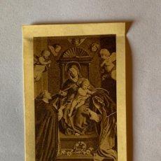 Postales: ESTAMPA RELIGIOSA DE NTRA. SRA DEL ROSARIO. AÑO 1948.. Lote 169803696