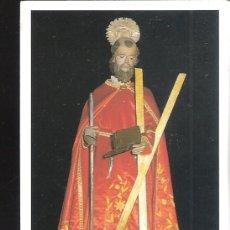 Postales: SAN ANDRÉS DE TEIXIDO. RECORDATORIO. HISTORIA Y ORACIÓN AL SANTO EN GALLEGO.. Lote 169910232