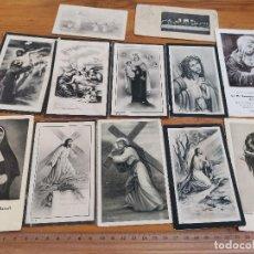 Postales: RECORDATORIOS 12 UNIDADES DE LOS AÑOS 1940S 1950S DE ARENYS DE MAR. Lote 170133324