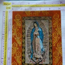 Postales: POSTAL RELIGIOSA SEMANA SANTA. AÑO 1986. SANTUARIO DE TORRECIUDAD, HUESCA. VIRGEN DE GUADALUPE. 2283. Lote 180194921