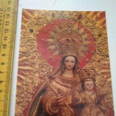 Postales: POSTAL CRISTO O VIRGEN DE LA SEMANA SANTA ESPARTINA SEVILLA. Lote 170269752