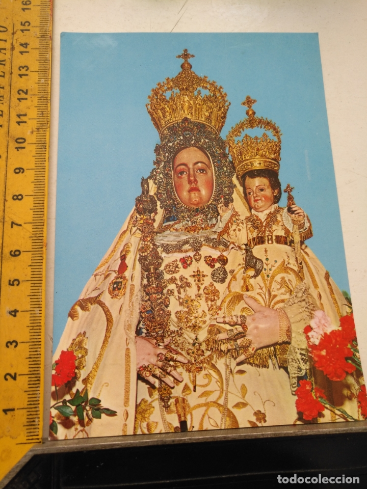 POSTAL CRISTO O VIRGEN DE LA SEMANA SANTA CORDOBA LUCENA (Postales - Postales Temáticas - Religiosas y Recordatorios)