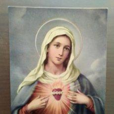 Postales: POSTAL SAGRADO CORAZON DE MARIA. Lote 170394608