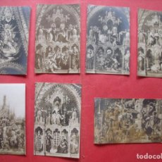 Postales: LORETO.-BASILICA.-POSTALES.-RELIGION.-LOTE DE 7 POSTALES.. Lote 170420884