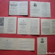 Postales: ESTAMPAS RELIGIOSAS.-CONDESAS.-CONDES.-MARQUESES.-LOTE DE 7 ESTAMPAS RELIGIOSAS.. Lote 170435532