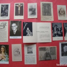 Postales: ESTAMPAS RELIGIOSAS.-CURAS.-PARROCOS.-ORDENACIONES SACERDOTALES.-LOTE DE 15 ESTAMPAS ENTRE 1938-1970. Lote 170435868
