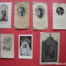 Postales: CORDOBA.-ESTAMPAS RELIGIOSAS.-LOTE DE 7 ESTAMPAS ENTRE 1925 HASTA 1950.. Lote 170436896