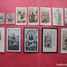 Postales: VIRGEN DEL CARMEN.-NUESTRA SEÑORA DEL CARMEN.-LOTE DE 13 ESTAMPAS RELIGIOSAS.. Lote 170440892