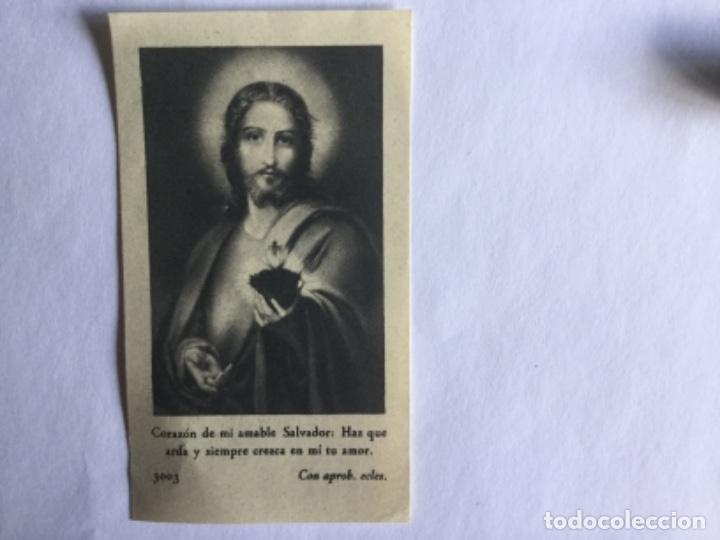 RECORDATORIO SANTAS MISIONES (Postales - Postales Temáticas - Religiosas y Recordatorios)