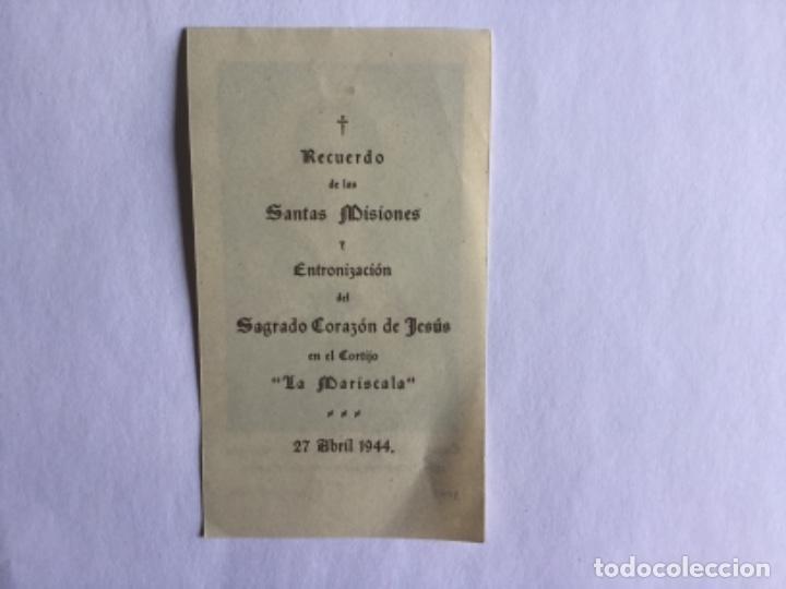Postales: RECORDATORIO SANTAS MISIONES - Foto 2 - 170551164